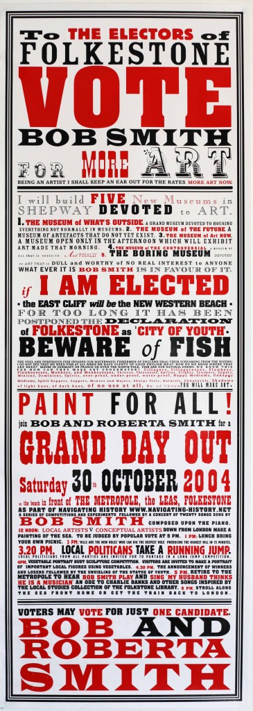 Bob & Roberta Smith, jugg art foundation